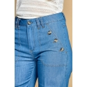 Jeans largi drepti Camila