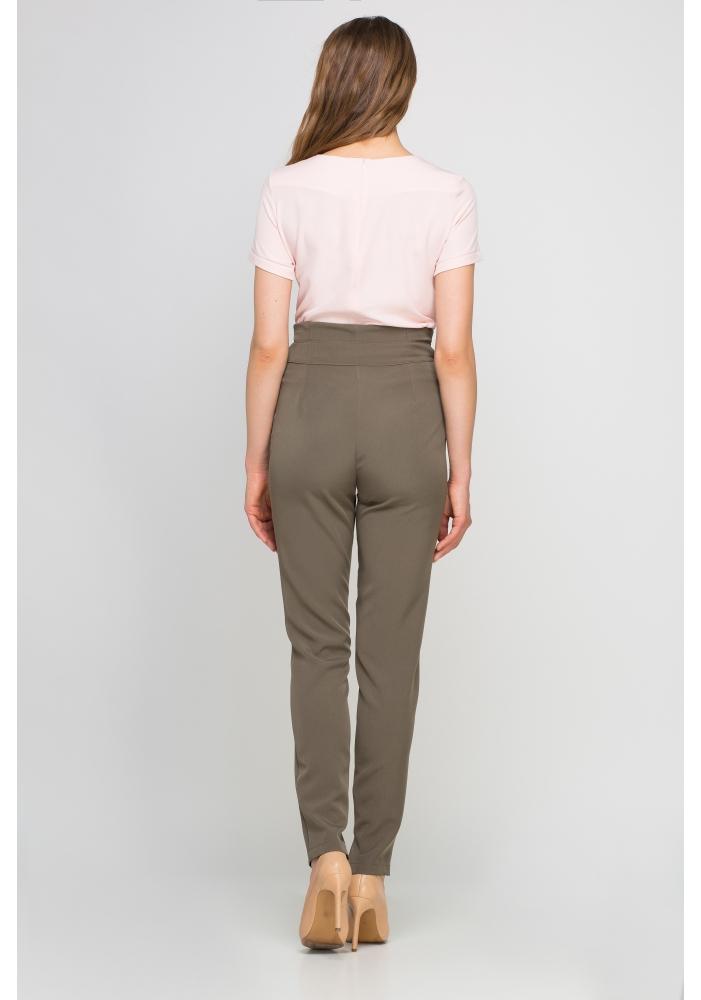 Pantaloni talie inalta Chantal