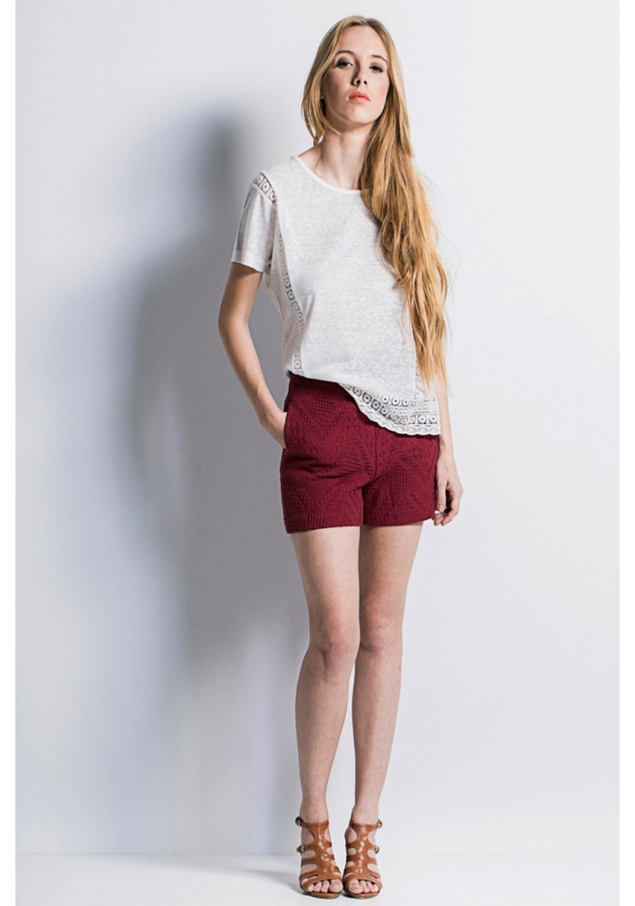 Pantaloni scurti bumbac Tania
