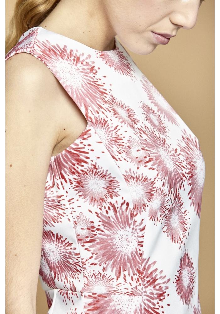 Rochie imprimeu flori Kira