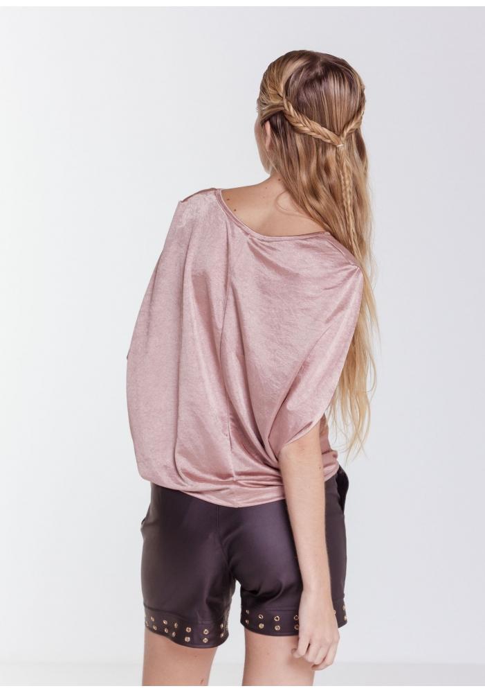 Bluza roz lejera Stela