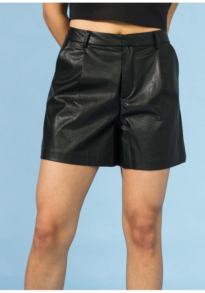 Pantaloni scurti piele ecologica Vanda