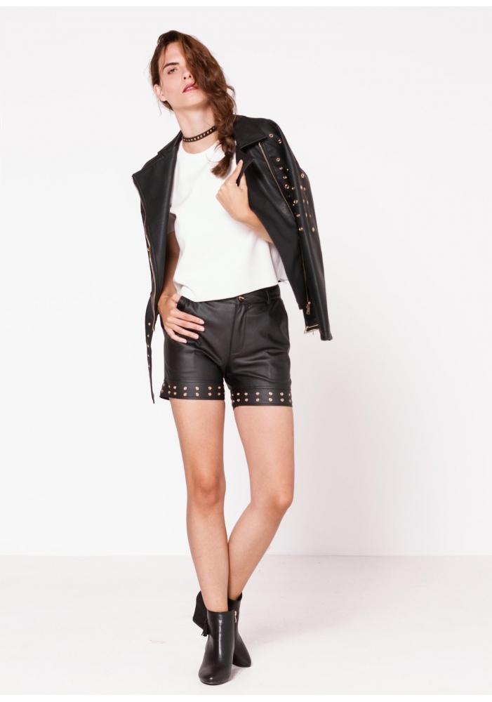 Pantaloni piele ecologica Ilaria