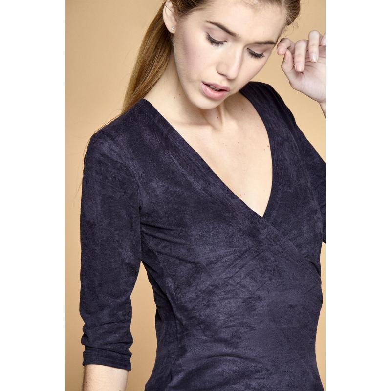 Bluza albastra Kima