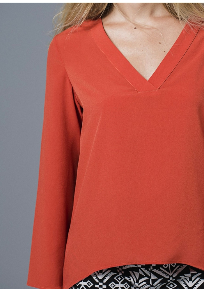 Bluza orange Beau
