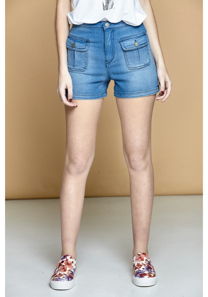 Jeans scurti buzunare Mire