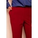 Pantaloni rosii drepti Alina