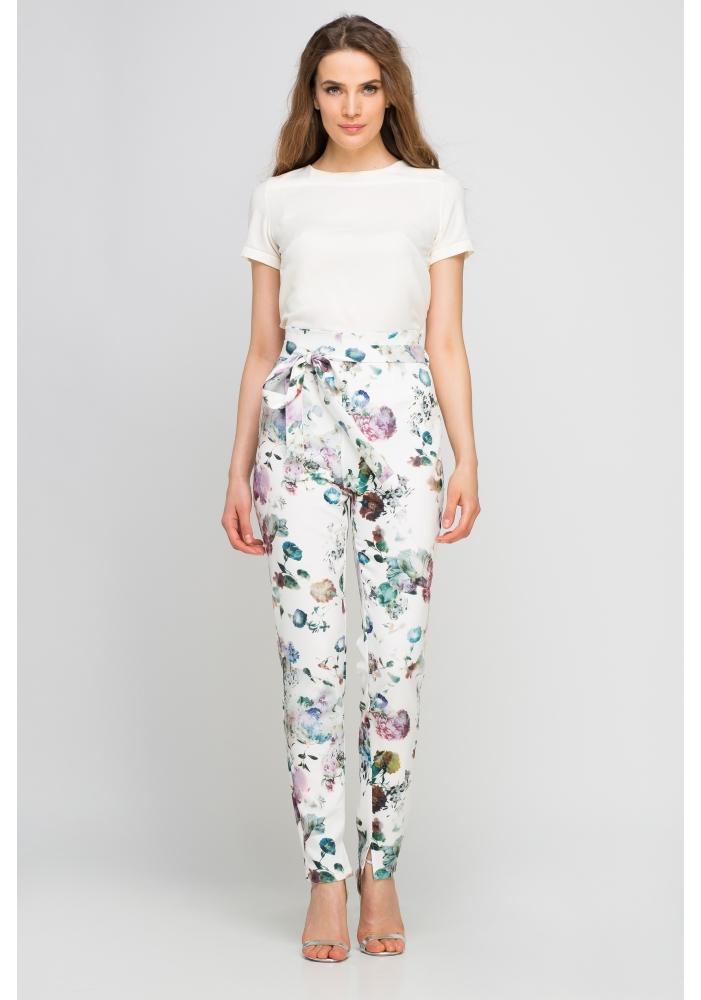 Pantaloni florali Kora