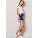 Pantaloni scurti albastri Lucia