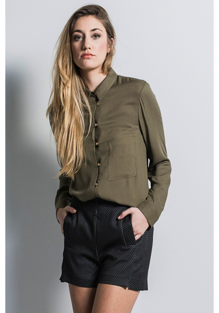 Pantaloni imprimeu Olivia