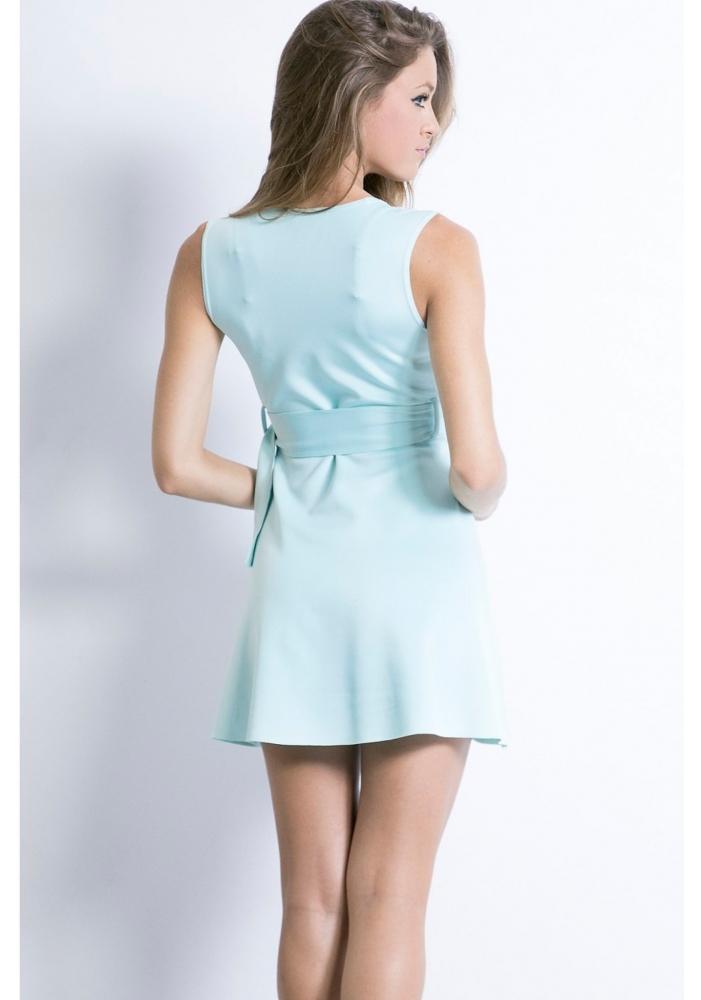Rochie decoltata Mint