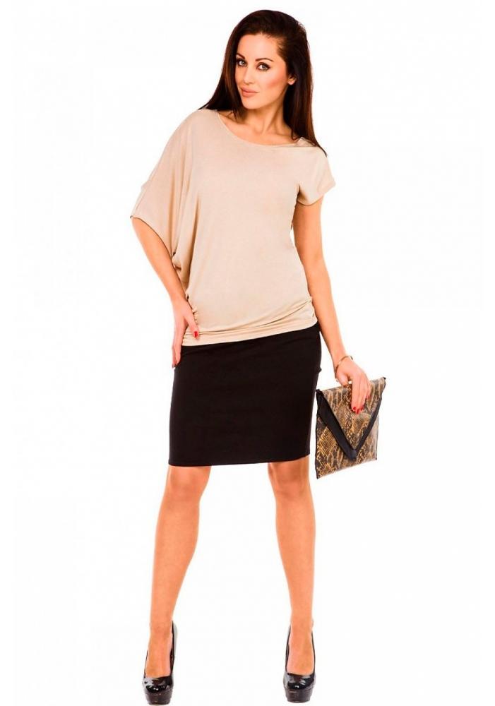 Bluza larga asimetrica Vero