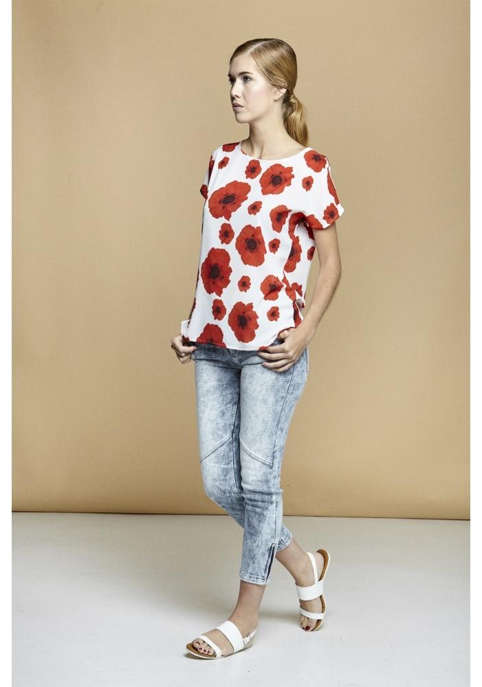 Bluza florala Medeea