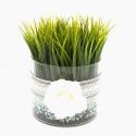 Decoratiune terrarium cu iarba
