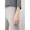 MANGO - Pantaloni dama gri office