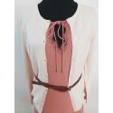 MANGO - Cardigan scurt dama roz cu nasturi