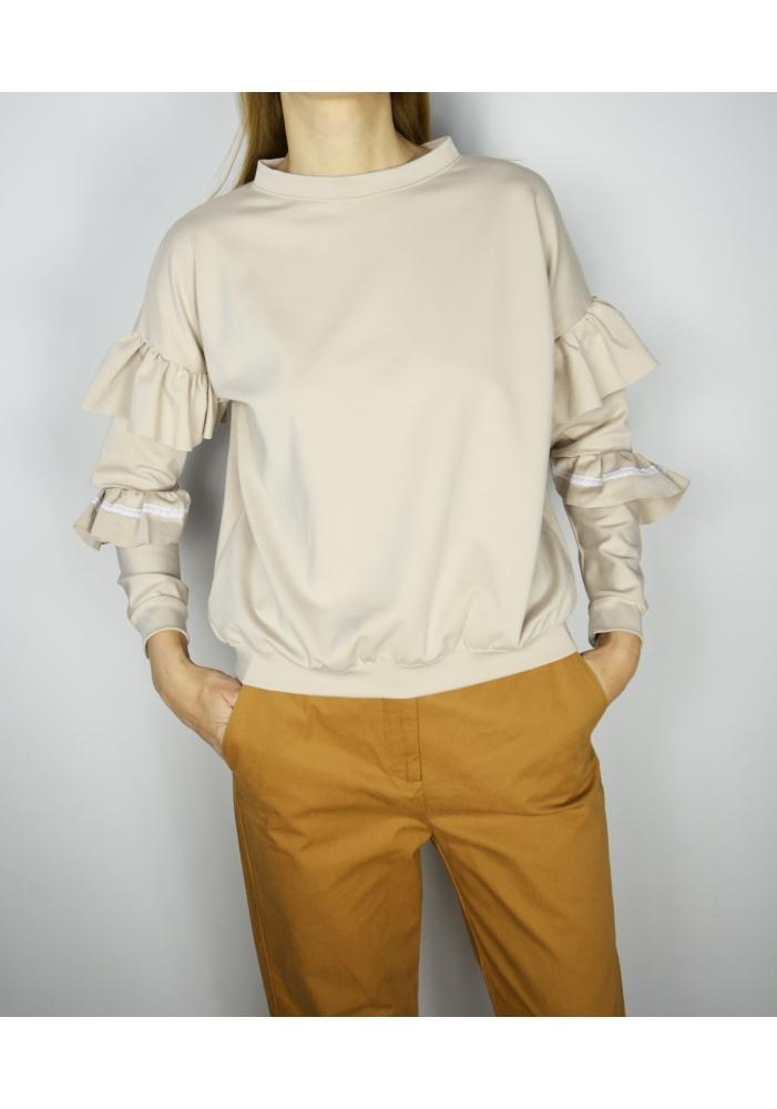Bluza cu volane Fabia