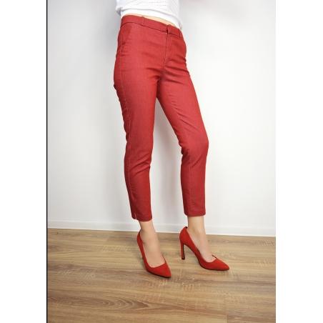 MANGO - Pantaloni dama rosii