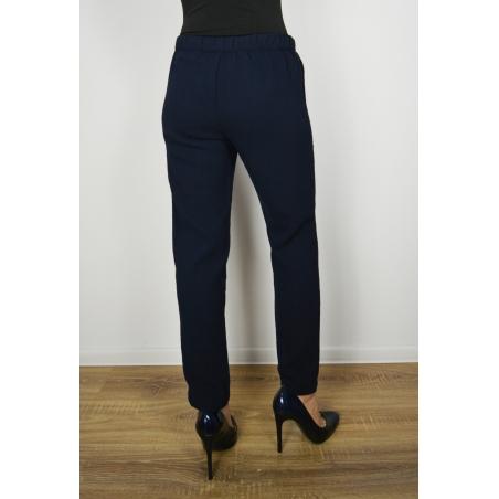 MANGO - Pantaloni dama albastri sport