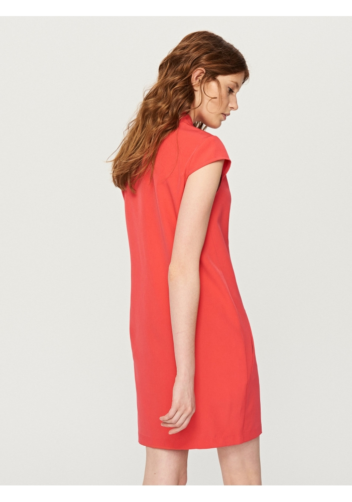 RESERVED - Rochie casual dreapta roz