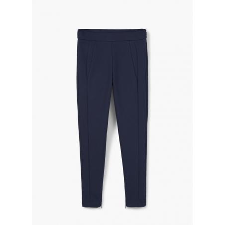 MANGO - Pantaloni skinny albastri