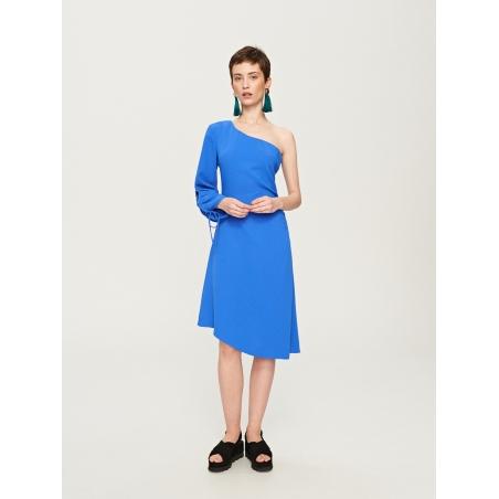 MOHITO - Rochie eleganta albastra pe umar