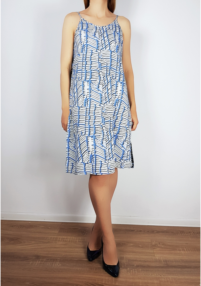 NOISY MAY - Rochie casual cu imprimeu albastru