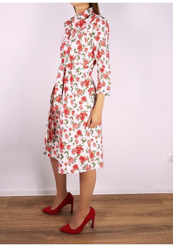 JACQUELINE DE YONG - Rochie midi cu imprimeu floral