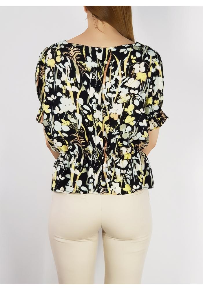 YAS - Bluza scurta elastica in talie