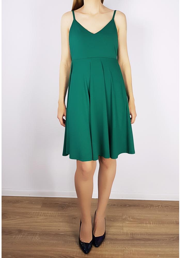 VILA CLOTHES - Rochie verde clos
